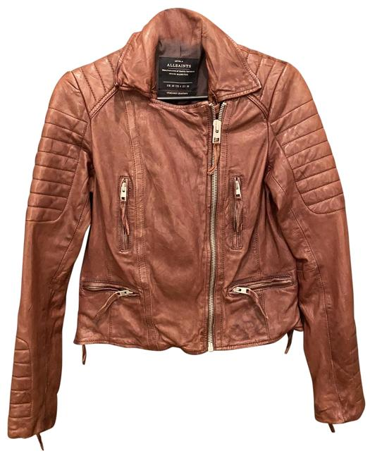 Item - Burgundy Oxblood Moto Jacket Size 6 (S)
