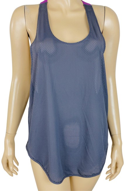 Item - Grey Fp Movement Easy Mesh Racerback & Activewear Top Size 8 (M)