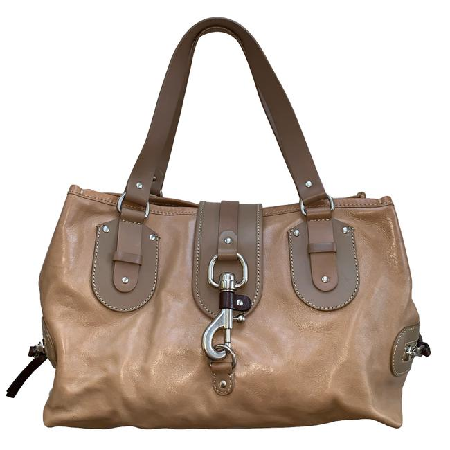 Item - Kerala Camel/Tan Leather Satchel