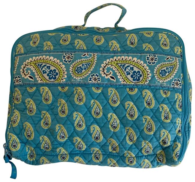 Item - Laptop/Makeup Bermuda Blue Cotton Laptop Bag
