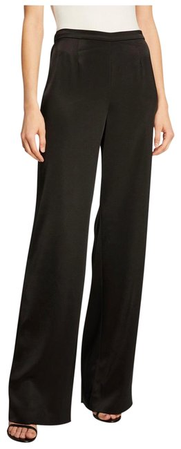 St. John Black Kate Satin Pants Size 2 (XS, 26) St. John Black Kate Satin Pants Size 2 (XS, 26) Image 1