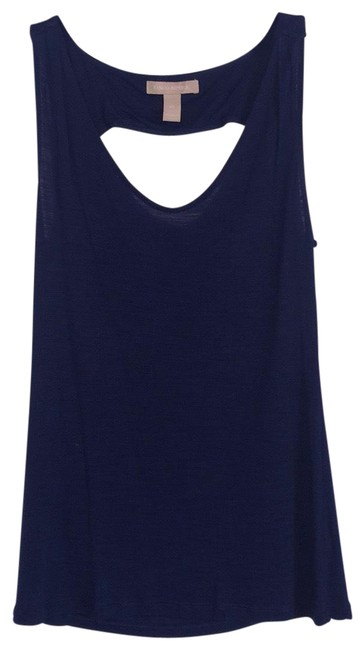 Item - Blue Sleeveless Top-open Back Drape Tank Top/Cami Size 2 (XS)