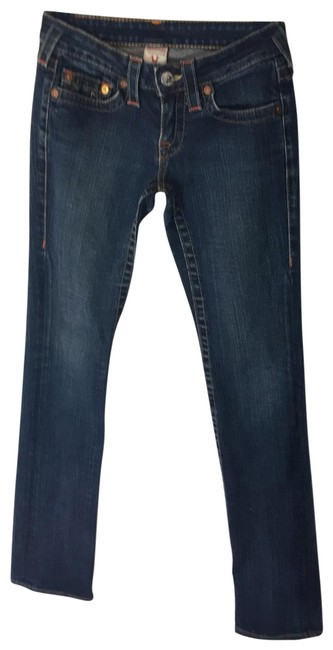 Item - Dark Blue Rinse Johnny Straight Leg Jeans Size 2 (XS, 26)
