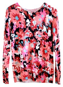 Forever 21 Watercolor Floral Sweater