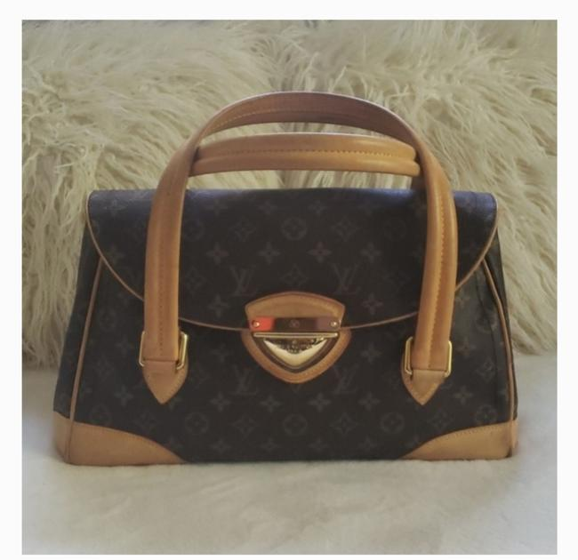 Louis Vuitton Beverly Monogram Canvas and Calfskin Satchel Louis Vuitton Beverly Monogram Canvas and Calfskin Satchel Image 1