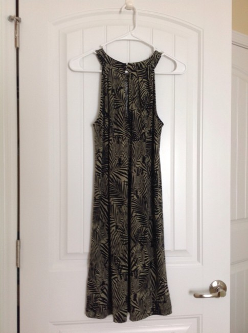 Banana Republic short dress Green, black. on Tradesy