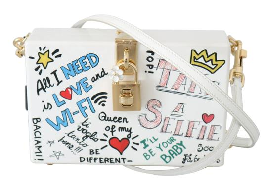 Preload https://img-static.tradesy.com/item/27917228/dolce-and-gabbana-box-hand-painted-wooden-white-sicily-purse-red-wood-leather-shoulder-bag-0-0-540-540.jpg
