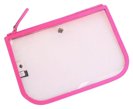 Preload https://img-static.tradesy.com/item/27917270/kate-spade-pink-pouch-clear-slim-case-radiant-cosmetic-bag-0-3-540-540.jpg