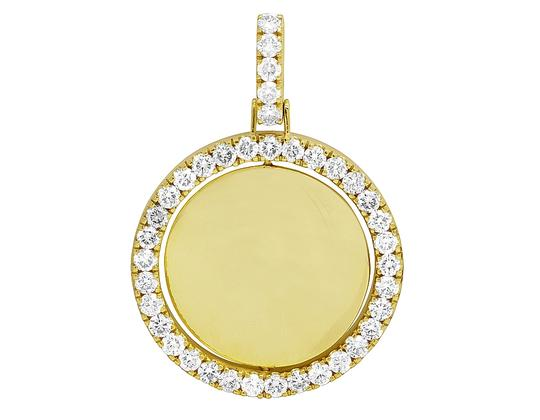 Preload https://img-static.tradesy.com/item/27917503/jewelry-unlimited-10k-yellow-gold-real-diamond-rotating-memory-photo-engrave-pendant-charm-0-0-540-540.jpg