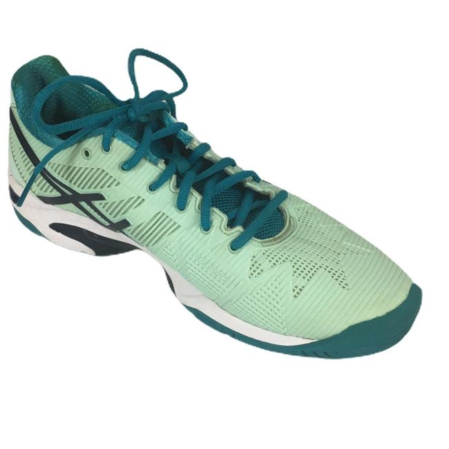 Asics Green Gel Solution Speed 3 Sneakers Size US 7.5 Regular (M, B) Asics Green Gel Solution Speed 3 Sneakers Size US 7.5 Regular (M, B) Image 1