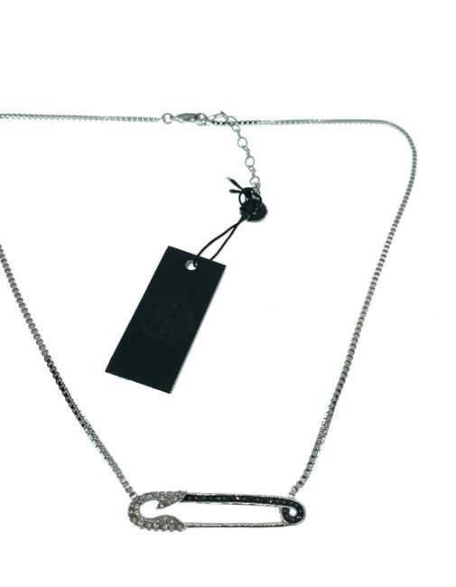Swarovski Safety Pin Necklace Swarovski Safety Pin Necklace Image 1