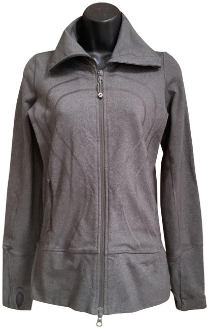Item - Grey Activewear Outerwear Size 4 (S)