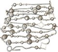 David Yurman Bijoux Bead and Chain Necklace in Sterling Silver