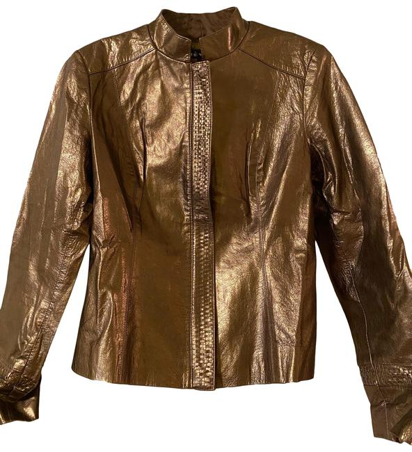 Item - Gold Vintage Jacket Size 8 (M)
