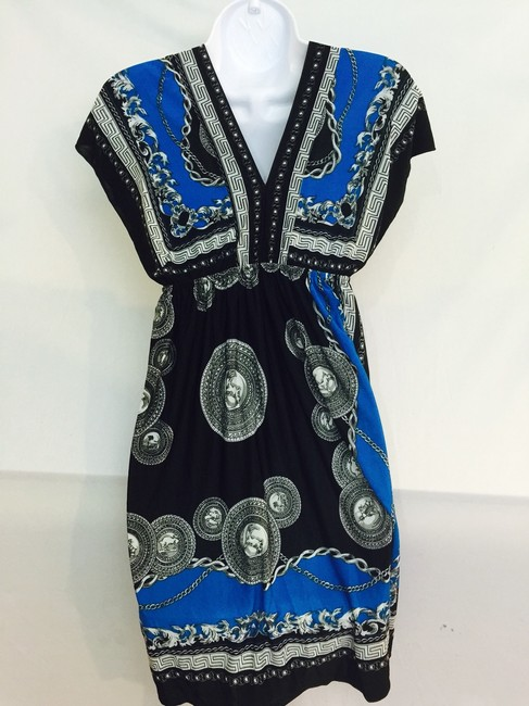 Blue/Black Maxi Dress by Other
