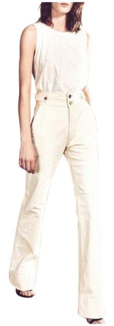 Item - Cream Light Wash The Significant Other High Waist Trouser/Wide Leg Jeans Size 28 (4, S)