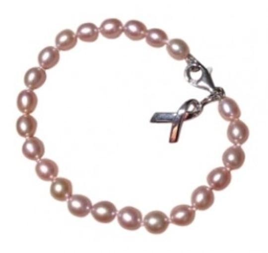 Preload https://item2.tradesy.com/images/pale-pink-for-the-cure-with-ribbon-charm-bracelet-27921-0-0.jpg?width=440&height=440
