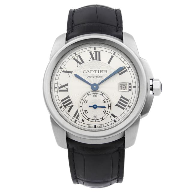 Item - Stainless Steel Calibre Silver Dial Mens Wsca0003 Watch