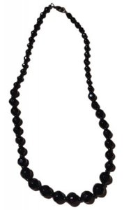 Other Black Beaded Necklace