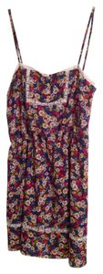Vasia short dress Floral on Tradesy