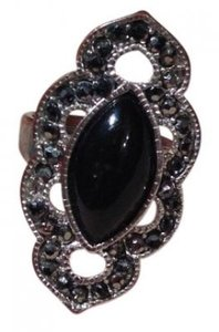 Other Black Fashion Ring