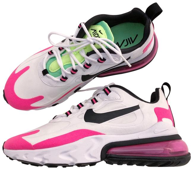 Nike Pink Women's Air Max 270 React Hyper Technology Delivers An Extremely Smooth Ride Reduces Weight and Adds Sneakers Size US 8.5 Narrow (Aa, N) Nike Pink Women's Air Max 270 React Hyper Technology Delivers An Extremely Smooth Ride Reduces Weight and Adds Sneakers Size US 8.5 Narrow (Aa, N) Image 1