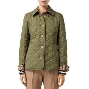 Item - Olive Green Frankby 18 Quilted Jacket