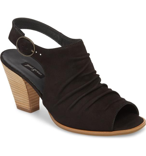 Item - Black Rival Bootie Cayane Leather (Pg5) Sandals Size US 6.5 Regular (M, B)