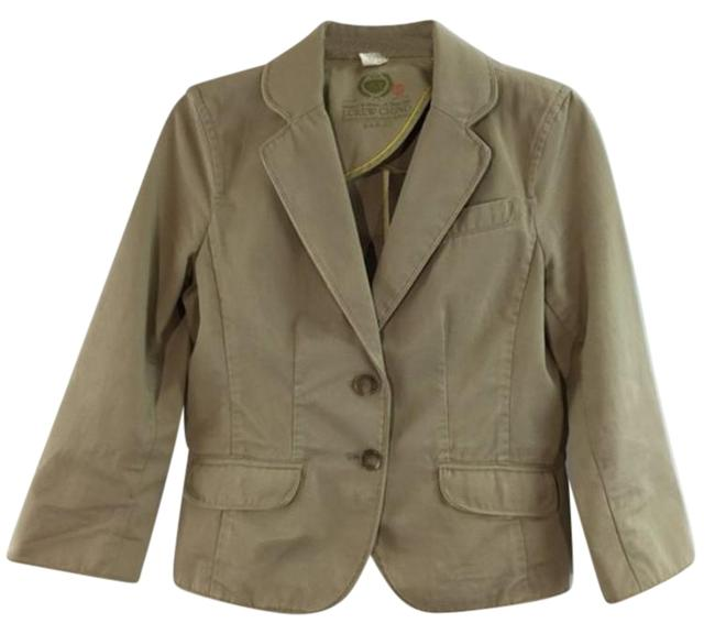 Item - Tan 2 Button Long Sleeves Jacket Size 8 (M)
