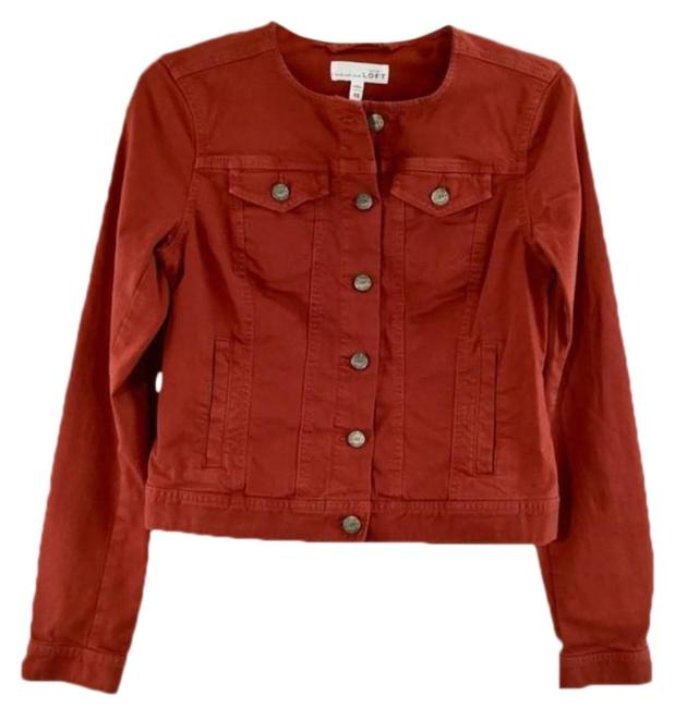 Item - Red 6 Metal Button Jacket Size 2 (XS)