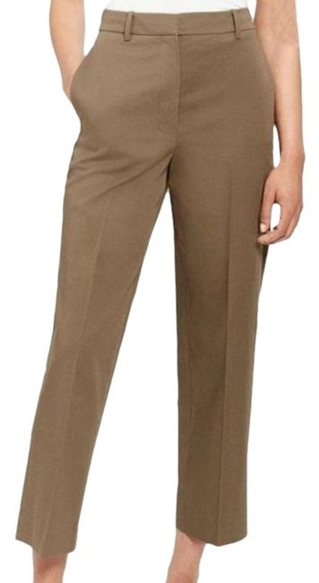 Item - Brown High-rise Straight Chino Pants Size 8 (M, 29, 30)