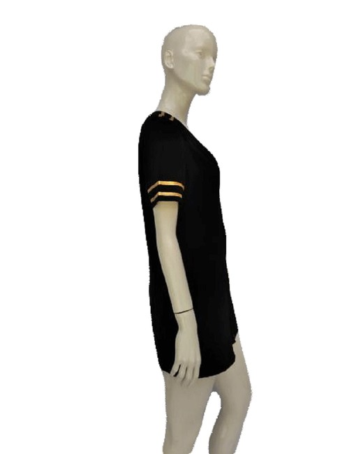 Item - Black and Gold L Ladies Mile High Captain (Sku 000156) Short Casual Dress Size 14 (L)