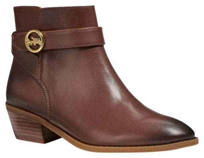 Item - Brown Classic Leather Ankle Boots/Booties Size US 8.5 Regular (M, B)