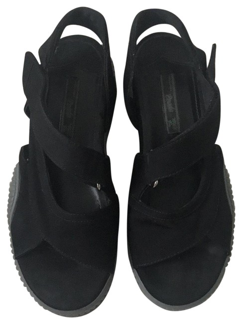 Item - Black Flats Size EU 38.5 (Approx. US 8.5) Regular (M, B)