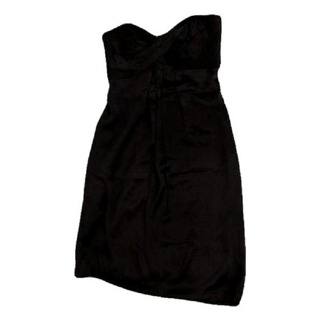 Item - Brown Strapless Party (Sku 000172) Mid-length Formal Dress Size 2 (XS)