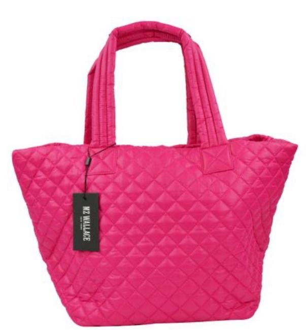 Item - Medium Metro Pink Nylon Tote