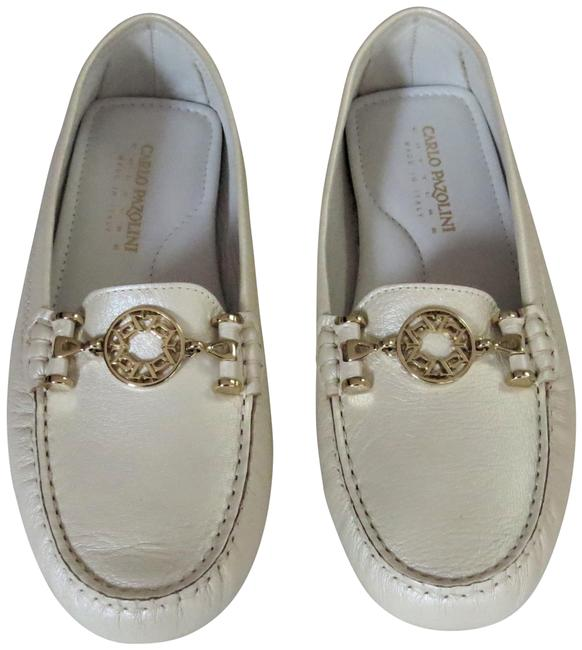 Item - Pearl Leather Moccasins Flats Size EU 39 (Approx. US 9) Regular (M, B)