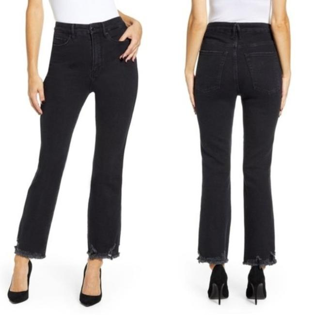 Item - Black Curve High Waist In Straight Leg Jeans Size 24 (0, XS)