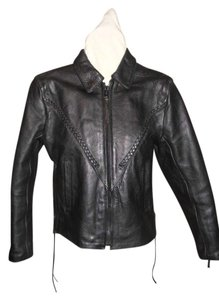 Slick Cycle Leather Motorcycle Jacket