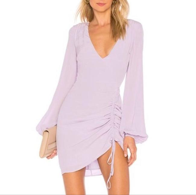 Item - Purple L The Pearl Lilac Short Night Out Dress Size 12 (L)