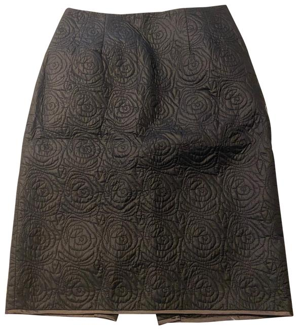 Item - Dark Gray Rosette Quilted Puff Skirt Size 6 (S, 28)