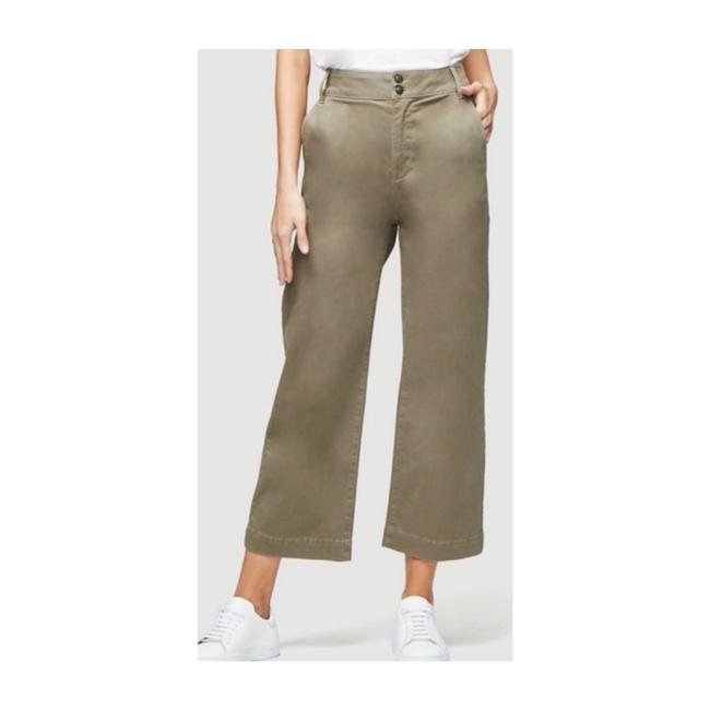 Item - Green Straight Leg Cropped Pants Size 12 (L, 32, 33)