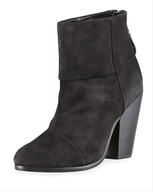 Item - Charcoal Suede Classic Newbury Boots/Booties Size US 7 Regular (M, B)