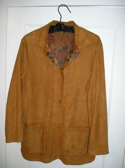 Peruzzi of Italy Unique Rare Tan Blazer