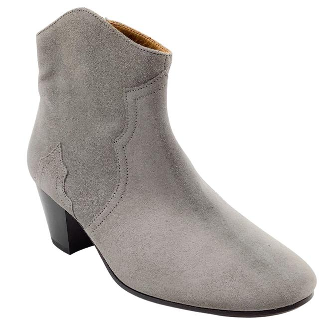 Item - Grey Suede Boots/Booties Size US 7 Regular (M, B)