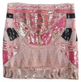 May & July Pink White Beaded Sequin Skirt Size 8 (M, 29, 30) May & July Pink White Beaded Sequin Skirt Size 8 (M, 29, 30) Image 1