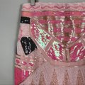 May & July Pink White Beaded Sequin Skirt Size 8 (M, 29, 30) May & July Pink White Beaded Sequin Skirt Size 8 (M, 29, 30) Image 3