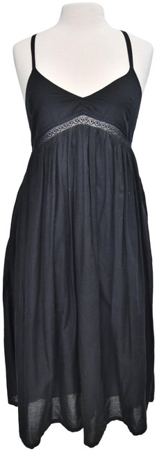 Item - Black Small (6) Mid-length Casual Maxi Dress Size 6 (S)