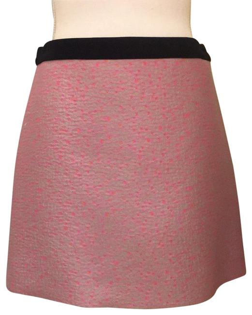 Item - Pink and Gray Combination Skirt Size 6 (S, 28)