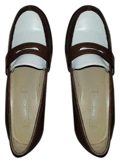 Item - Brown Rounded Toe Leather Loafers Pumps Size EU 38.5 (Approx. US 8.5) Regular (M, B)